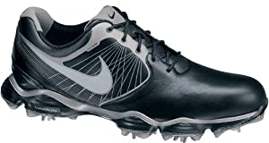 Nike Golf Men's Nike Lunar Control II Golf Shoe,Black/Metallic Pewter/Volt/Reflect Silver,9.5 M US