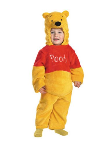 Baby-Toddler-Costume Pooh Deluxe Plush Toddler Costume 3T-4T Halloween Costume