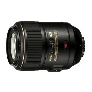 Nikon 105mm f/2.8G IF-ED AF-S VR Micro-Nikkor Lens