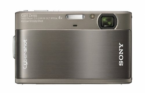 Sony DSCTX1H Cyber-shot Digital Camera - Grey (10.2MP, 4x Optical Zoom) 3 inch Touch Panel LCD Screen