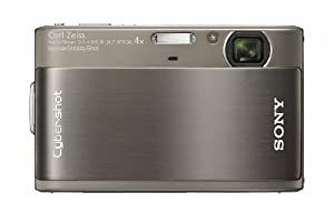 "Sony Cyber-shot DSC-TX1/H 10MP ""Exmor R"" CMOS Digital Camera with 3-inch Touch-Screen LCD (Grey)"