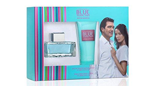 Antonio Banderas Blue Seduction for Women Confezione Regalo 100ml EDT + 100ml Lozione Corpo