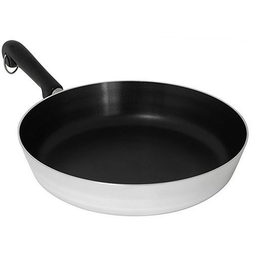 Revere Polished Aluminum 12-Inch Nonstick Skillet (Revere Cookware Copper compare prices)