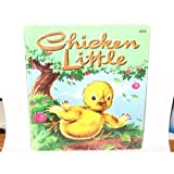 CHICKEN LITTLE Golden Tell-A-Tale Book 2641