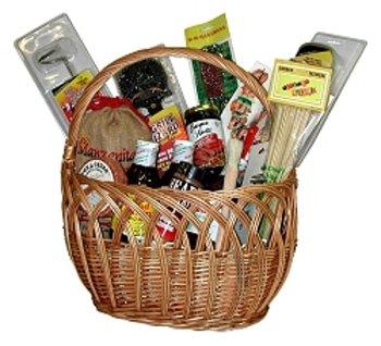 Grand Wizard BBQ Gift Basket