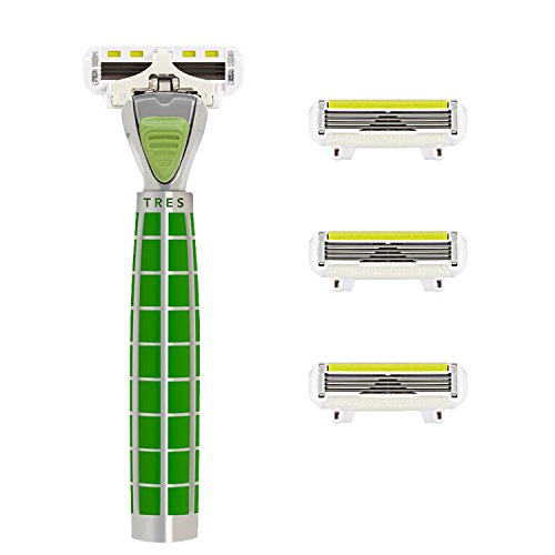Rasoio Shave-Lab-Tres-Starter Set con 4lame