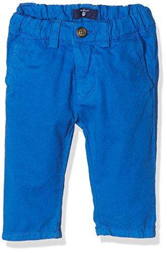 Gant Baby Chino, Pantaloni Bimba, Blu (Nautical Blue), 3 Mesi