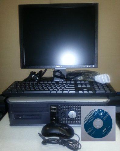 Dell Optiplex GX620 17-Inch Flat Panel LCD Monitor Desktop Computer (Intel Pentium 4 2800 Mhz, 1024 MB ram, 40 GB Serial ATA HDD, Windows XP Professional)
