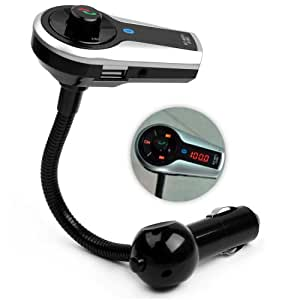 Findway® New Bluetooth Handsfree Car Kit FM Transmitter Modulator Car mp3 Player For iPhone / iPod / Pad / mp3 / Phone
