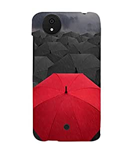 Umbrellas 3D Hard Polycarbonate Designer Back Case Cover for Micromax Canvas Android A1 AQ4501 :: Micromax Canvas Android A1