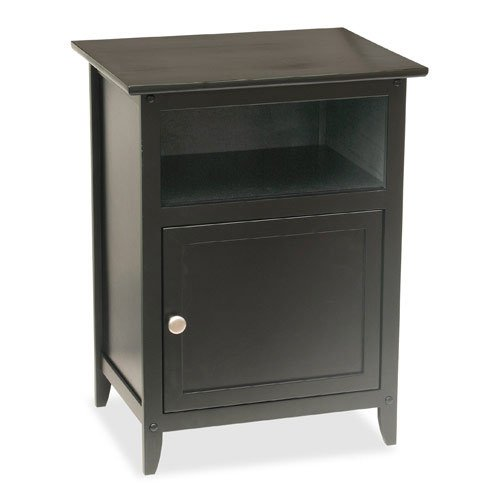Accent Table in Black