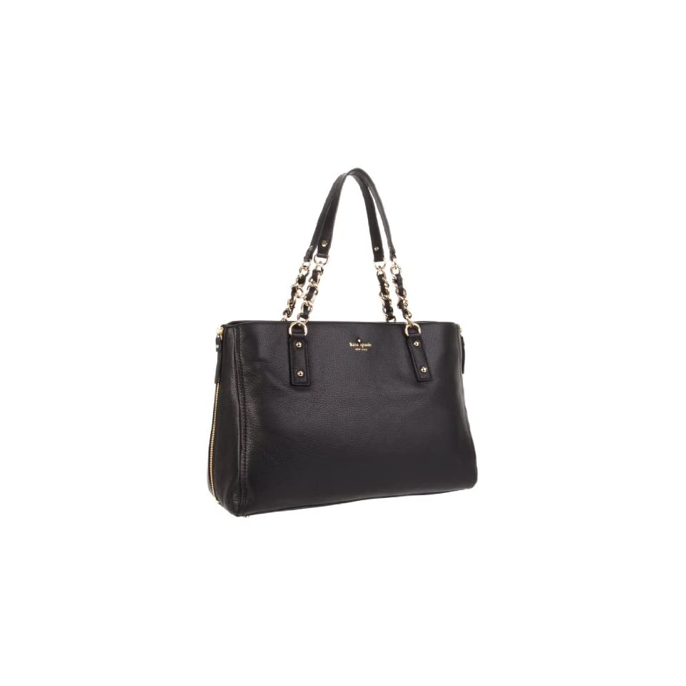 Kate Spade New York Cobble Hill Andee Satchel,Black,One Size