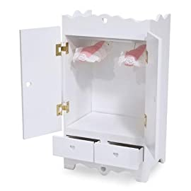 Hand Crafted Armoire Doll Furniture