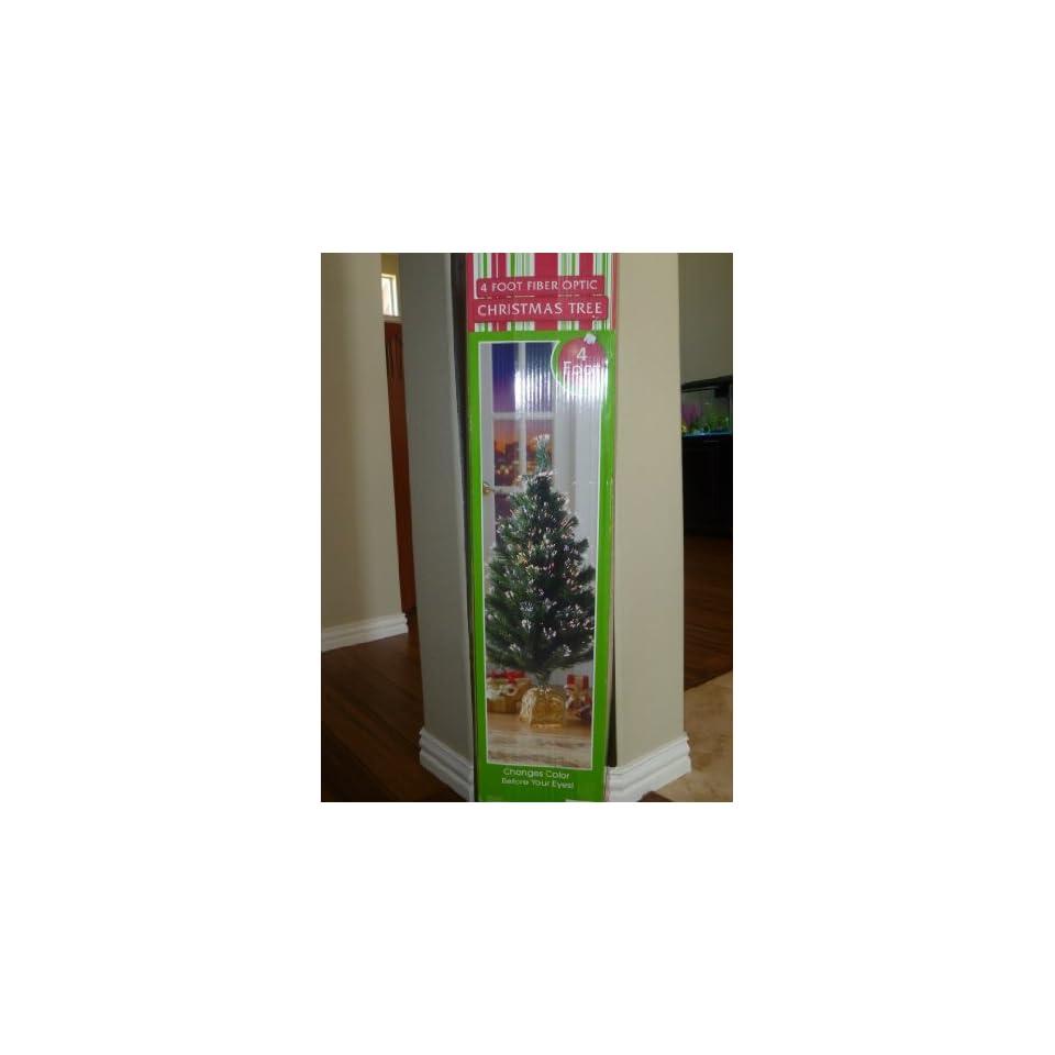 4 Ft. Pre lit Fiber Optic Christmas Tree