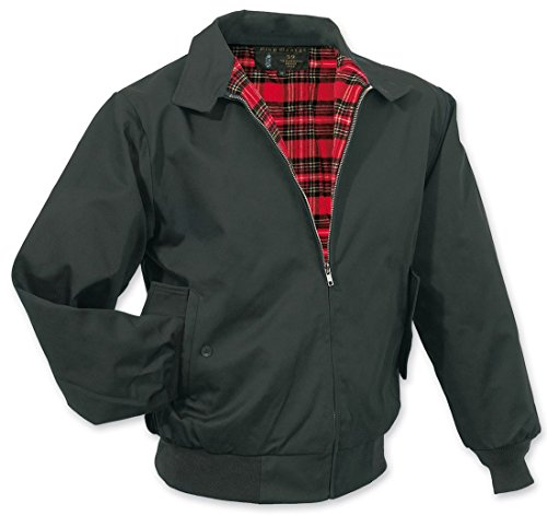 Surplus-Mens-King-George-Classic-Harrington-Mod-Skin-Ska-Rockabilly-Jacket
