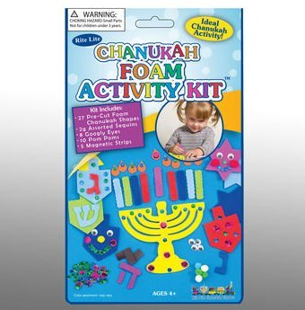 Rite Lite TYK-FOAM Chanukah Foam Activity Kit
