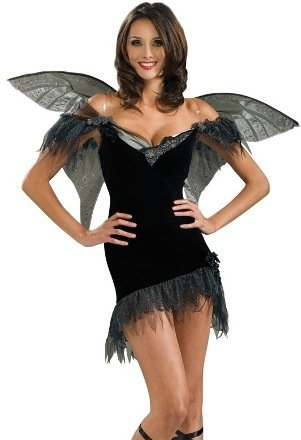 Secret Wishes Women's Enchanted Creature Adult Fairy Of Darkness Costume