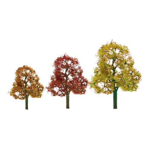 JTT Scenery Products Premium Series: Autumn Deciduous, 2-3""