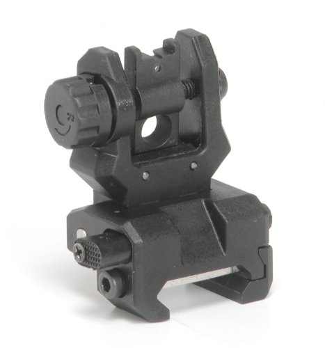 Command Arms Low Profile Flip Up Rear Sight