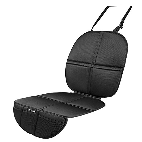 Homitt-Car-Seat-Protector-Backseat-Protector-Mat-for-Baby-infant-Carseats-Upholstery-with-Toys-Storage-Bags-fits-most-Automobiles