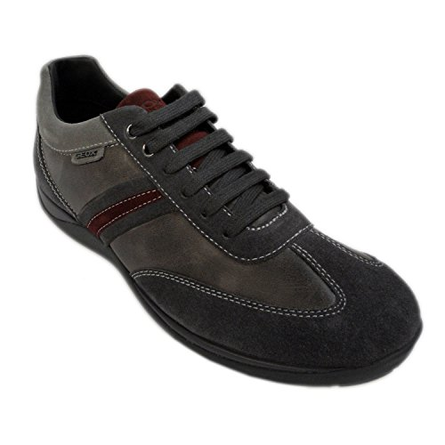 SNEAKERS GEOX XAND U44Y2A 022CL CHARCOAL SCAMOSCIATO+VIT.CERATO N.42