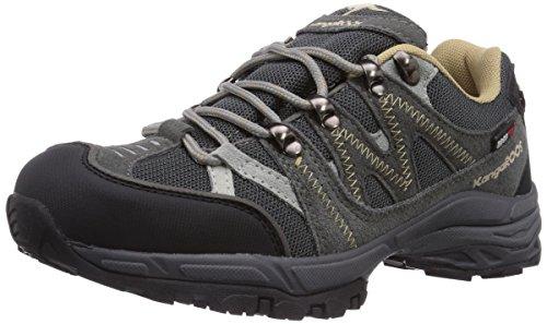 KangaROOS K-Outdoor 7040, Scarpe da trekking medio unisex adulto, Grigio (Grau (dk grey/sand 211)), 37