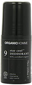 Organic Homme 9 Stay Cool Deodorant (75ml)