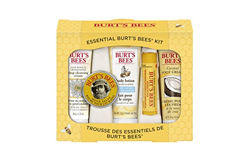 Burt's Bees Essential Everyday Beauty Gift Set Bath Beauty Set