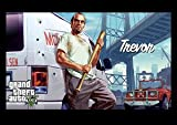 Grand Theft Auto 5 - gta5 - gaming - xbox - ps4 - Trevor - A3 poster - print - picture