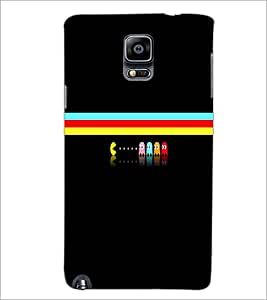 PrintDhaba Cartoon D-3998 Back Case Cover for SAMSUNG GALAXY NOTE 3 (Multi-Coloured)