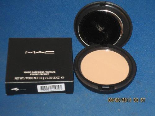 MAC ** STUDIO CAREBLEND PRESSED POWDER *** MEDIUM PLUS ** 0.35 OZ. BOXED (Mac Medium Plus Pressed Powder compare prices)