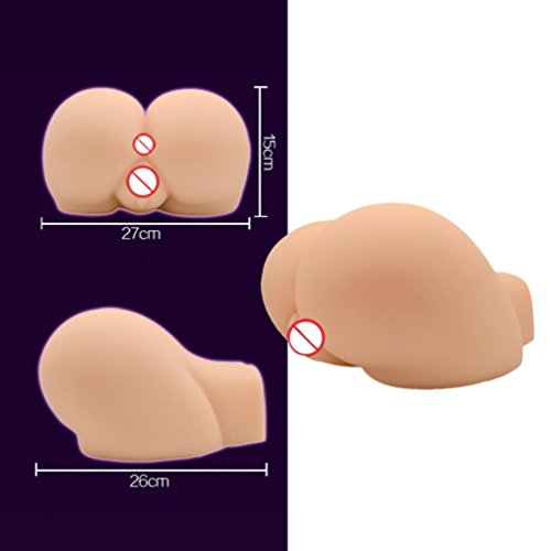 Allywit ULTRA Realistic Sex Doll Vagina Lifelike Sexy Real Full Silicone Solid Love Toy (B:181610CM, Pink)