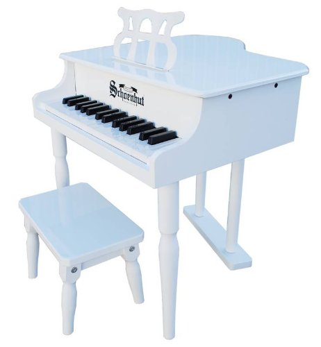 Schoenhut 30 Key Classic Baby Grand with Bench (Kids Piano With Bench compare prices)