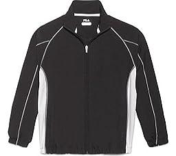 Fila Boy\'s Club House Jacket - Black-L