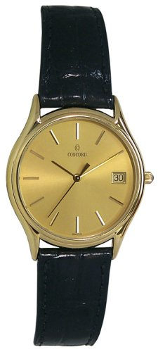 Concord Bennington 18K Solid Gold Men's Watch - 0390732