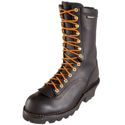 Danner Men's Quarry Logger GTX Work Boot,Black,7 EE US