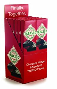 Tabasco Chocolate Wedges 12ct