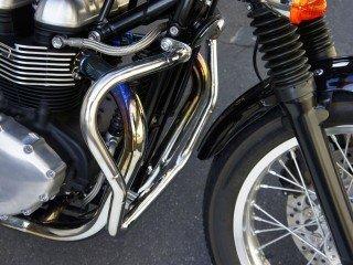 オーヴァーレーシング(OVER RACING) エンジンガード ステンレス製 THRUXTON 900 [スラクストン] 59-951-02