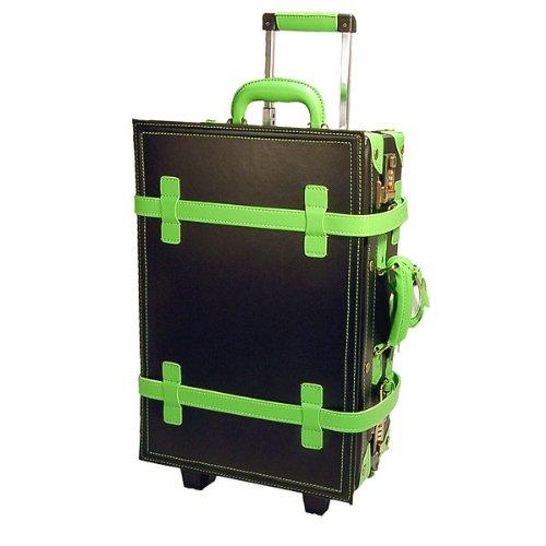 決算 ハナイズム トランクキャリーバッグ - HANA ism -S21 コスモブラック×メロン/キャリーケース・スーツケース