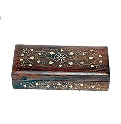 JGC Wooden Jewellery box- Brasswork