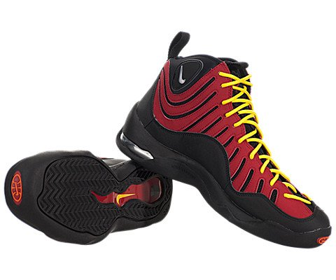 pictures of Nike Air Bakin - Black / Red, 11 D US