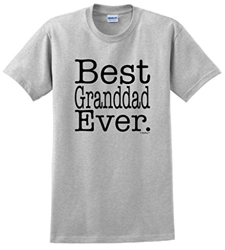 Best Granddad Ever T-Shirt Xl Ash front-1055201