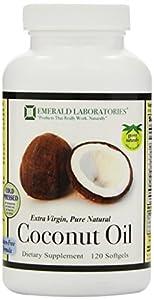 Emerald Coconut Oil, Softgels, 120 Count