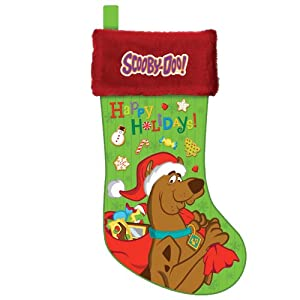 scooby doo christmas stocking