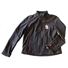 MLB Officially Licensed St. Louis Cardinals Ladies Black Water Resistant Jacket...
