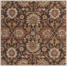 Surya Caesar Chocolate-Brown 6\' Contemporary Area Rug