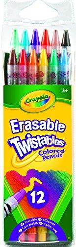 CYO687508 - Crayola Twistables Erasable Colored Pencils