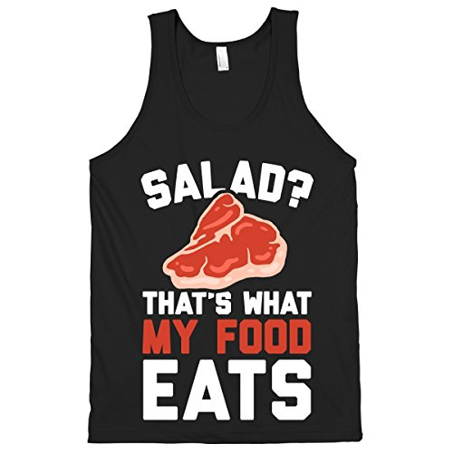 Human Salad? That'S What My Food Eats Black Small T-Shirt