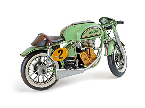 Small Foot Company 7432 Motorcycle Vintage Decorative