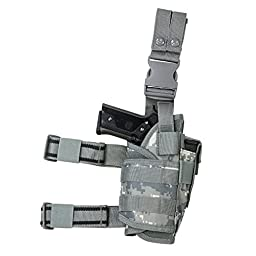 VISM by NcStar Drop Leg Tactical Holster, Digital Camo